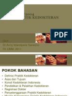 Fk Umm, Uu Pradok, kuliah UU praktik kedokteran
