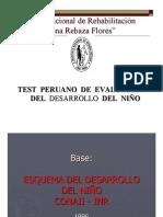Test Peruano de Evaluaci