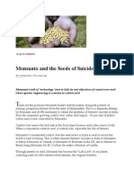 27-03-13 Monsanto and the Seeds of Suicide