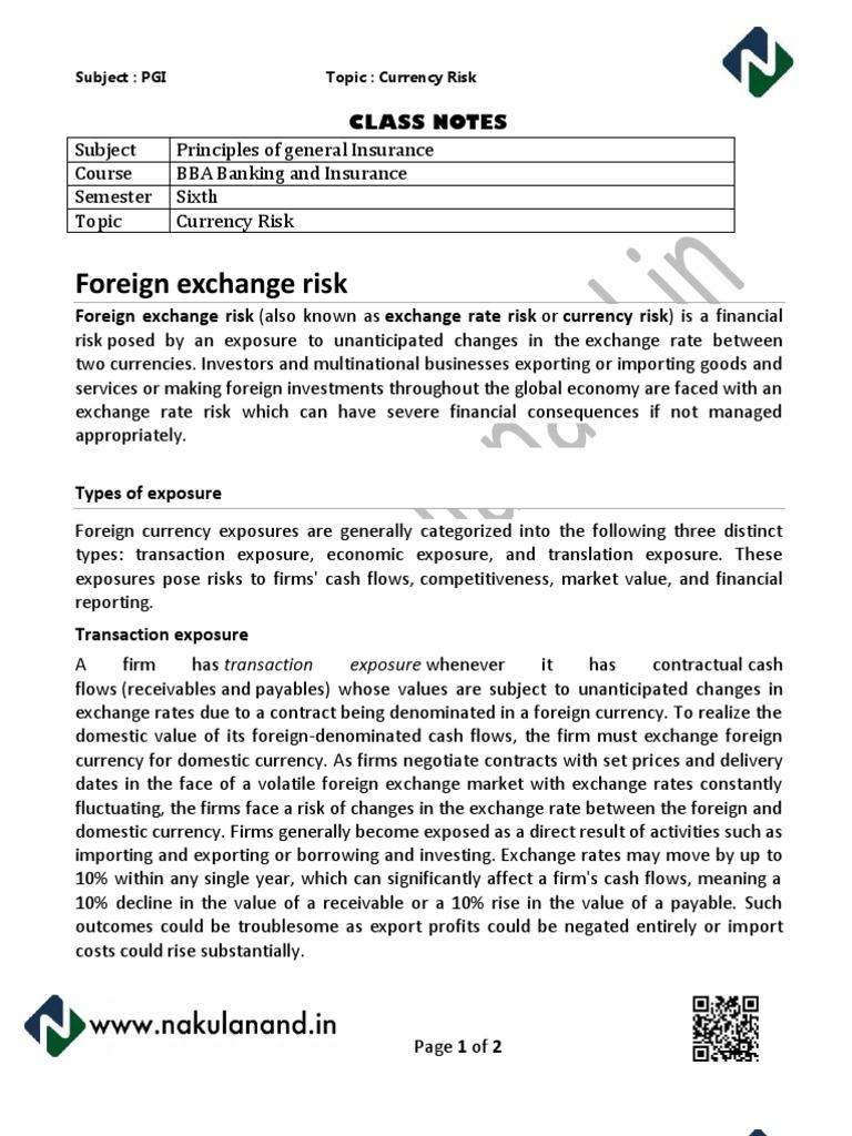 Managing Risk | blogger.com