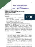 Cuenta Cobro Pago Condena Reparacion Directa Mindefensa Olga Mariana Granada