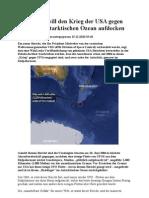 WikiLeaks Will Den Krieg Der USA Gegen UFOs Im Antarktischen Ozean Aufdecken