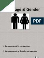 Language & Gender