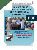 Plan Dist Seg Ciudad Morrope 2012