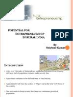 entrepreneurship in rural India