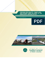 An Audit of Air Ambulance Services in B.C.