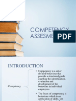 Competency Assesment