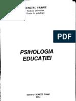 Dumitru Vrabie - Psihologia Educatiei