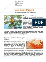 Gorgeous Fruit Papaya