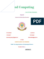 A Paper on Cloud Computing Ref Jagadish