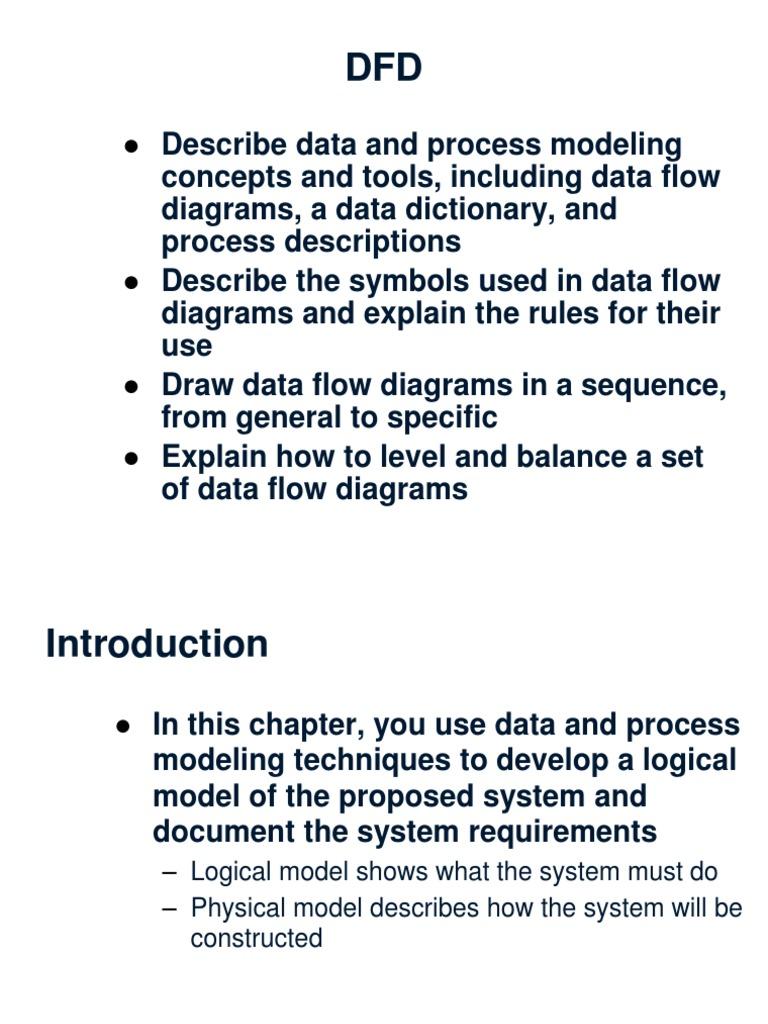 DFD_and_Data_Dictionary_-_SAD_6e ppt | Information