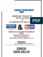 Comparison of retail in India