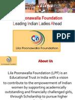 Lila Poonawalla Foundation - Undergraduate Program