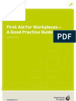 First Aid for Work Places - A Good Practice Guide 2009