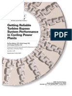 getting reliable turbine bypass system performance in cycling power plants