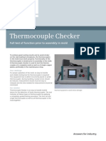 Thermocouple Checker Productsheet