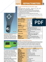 Refractometers - Catalog