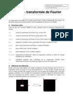 Matlab Transformee de Fourier