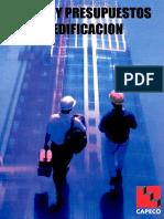 Costos y Preupuestos en Edificaciones_capeco
