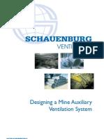 designing Auxiliary Ventilation