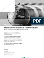Profibus specification