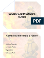 Combate Ao Incendio e Panico