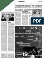 Jannacci a Pavia, premio Regisole