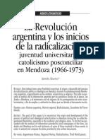 revolución argentina y posición de la iglesia