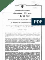 Decreto 2641 de 2012