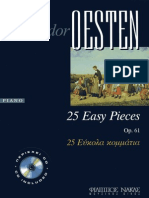 Theodore Oesten - Op61 - Easy child pieces for piano