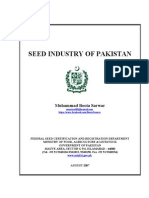 Seed Industry of Pakistan - 20-8-07