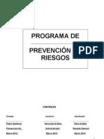 P.PR.SG.13  Programa de Prevención