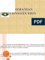 Romanian Constitution.ppt