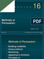 Methods of Persuasion