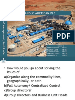 ANGLO AMERICAN PLC CASE STUDY