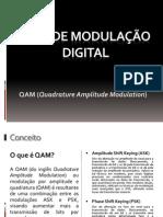 Tipo de modulação digital QAM