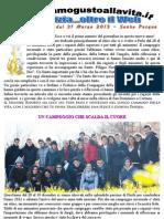 Giornalino Diamogustoallavita 31 Marzo 2013 - Pasqua 2013