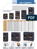 Dry Cabinets - Catalog