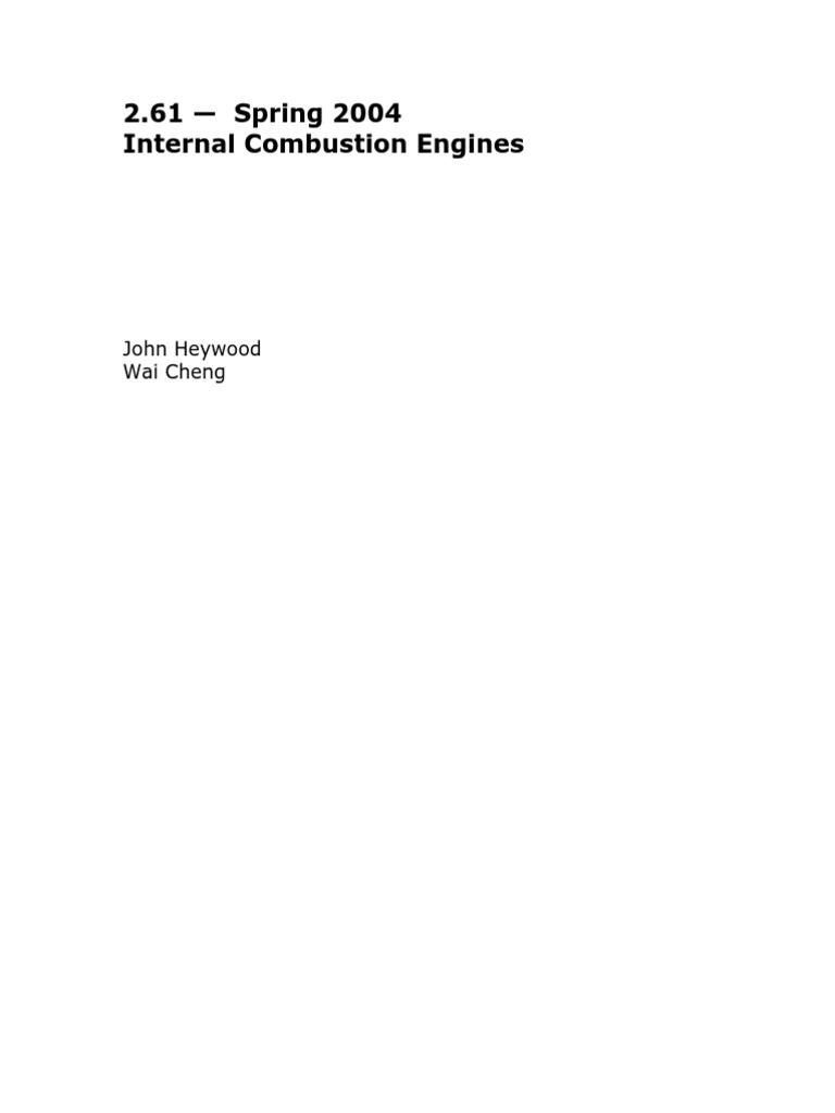 internal combustion engines internal combustion engine diesel engine rh es scribd com internal combustion engine fundamentals john b heywood solution manual internal combustion engine fundamentals heywood solutions manual pdf