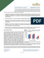 Commercial Imports in Somalia September 2011