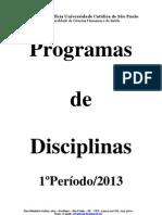 1º Periodo 2013
