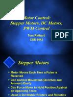 Stepper and DC Motors Control