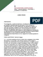 Sant'Agostino - Le Diverse Questioni a Simpliciano (ITA)