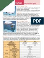 Material Testing - Catalog