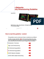 Radio Networks Capacity Dimensioning Guideline