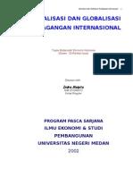 LIBERALISASI DAN GLOBALISASI PERDAGANGAN INTERNASIONAL  by Indra Maipita