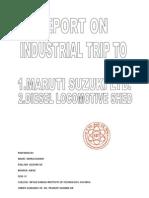 industrial trip report
