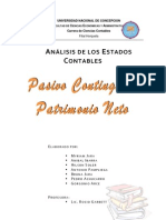 Analisis de Los Estados Contables