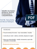Atendimento Trabalho Em Equipe Eficiencia Eficacia Produtividade e Competitividade
