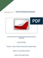 Gestão de Eventos, Etiqueta & Protocolo.